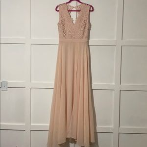 Alter'd State dress. Size LARGE. Blush color.